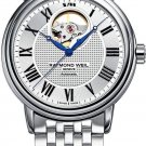 Raymond Weil Maestro Automatic Open Balance Wheel Men's Watch 2827-ST-00659