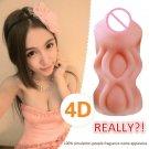 4D vagina real pussy pocket adult sex toys for men masturbator Artificial Male Masturbator for Man