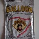 "18"" PITTSBURGH PIRATES MAJOR LEAGUE BASEBALL FOIL HELIUM MYLAR BALLOON FREE SHIP"