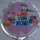 """18""""  LOVE YOU MOM MYLAR BALLOON FREE SHIPPING"""