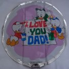 "18""  LOVE YOU DAD MYLAR BALLOON FREE SHIPPING"