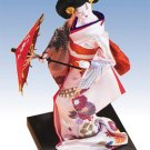 28150 ~ Japanese Doll with Parasol ~ Ceramic Treasures