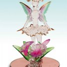 28202 ~ Frosted Spun Glass Fairy ~ Ceramic Treasures