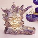 28462 ~ Ceramic Sun Oil Burner ~ Ceramic Treasures