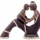 30105 ~ Alabastrite Mother & Son ~ Ceramic Treasures