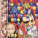 Dr. Mario Game Boy Games GameBoy Nintendo Vintage Game