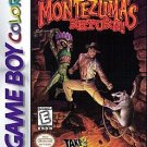 Montezuma's Return Game Boy Games GameBoy GB GC GBA SP