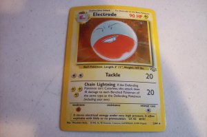 Electrode Pokemon Card 2/64 FREE Shipping