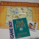 Final Fantasy Adventure INSTRUCTION BOOK & MAP ONLY!! GameBoy Game Boy Games - FREE SHIPPING