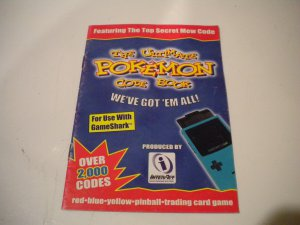 The Ultimate Pokemon Red Yellow Blue Code Book GameShark