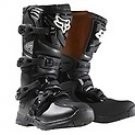 Fox Racing Youth Comp 3 Boot- BLACK Y8-NEW