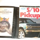1992 Chevrolet S/10 Pickup S10 Owners Manual Owner's Guide