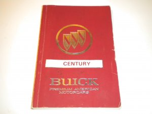 1991 Buick Century Owners Manual Owner's Guide Owner