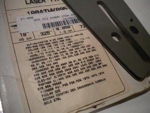 "Oregon 18"" Laser Tip Chainsaw Bar 180ATMK095 Dolmar Husqvarna Redmax Jonsered Homelite Poulan"