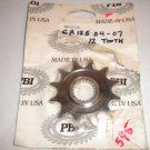 CR125 CR250 CRF250X CRF250R Front Countershaft Sprocket PBI 390-12 12 tooth 12t 390