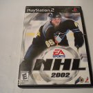 NHL 2002  (Sony PlayStation 2, 2001) PS2 Used Video Games Game EA Sports