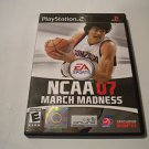 NCAA March Madness 07  (Sony PlayStation 2, 2007) PS2 Used Video Games Game