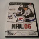 NHL 06 (Sony PlayStation 2, 2005) PS2 NHL06