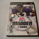 Madden NFL 2005  (Sony PlayStation 2, 2004) PS2 Used Video Games Game