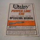Daisy Powerline 130 .177 Airgun Operation Manual; Original