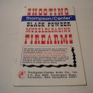 Thompson Center Black Powder Muzzel Loading Manual; Original