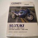 CLYMER MANUAL GSXR750 1988-1992 & GSX750F KATANA 1989-1996 P/N M478-2