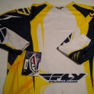Fly Racing 208 Evolution Jersey Navy/Yellow Size Medium