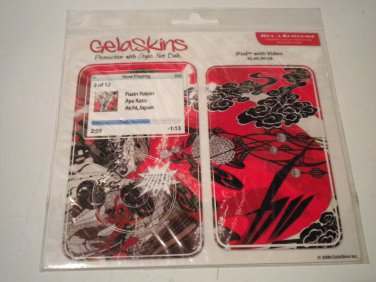 GelaSkins Protective Skin with Screen Protector for iPod Video 5G (FUZIN RAIZIN)