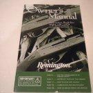 Remington 1100 and 1187 & 1187 Super Mag Owners Manual