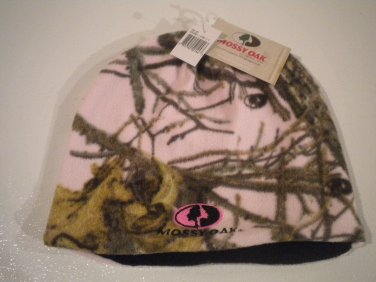 Mossy Oak Pink Camo Ladies Beanie NEW