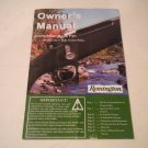 Remington 783 Rifle Owner's Manual, 2012, NICE!