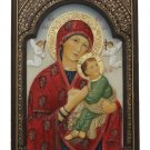 """Our Lady Of Perpetual Help Plaque, Hand-Painted Color, 6x9"""""""