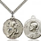 SS Our Lady Perpetual Help/Sacred Heart of Jesus Pendant 37-01/17SS/24S