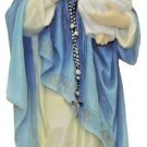 Our Lady Of The Rosary Statue In Fully Hand-Painted Color, 10""
