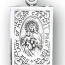 Sterling Silver Our Lady Of Mt. Carmel Medal
