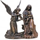 Madonna & Child Angel's Song Cold Cast Bronze Statue