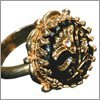 Jack Sparrow Button Ring Replica