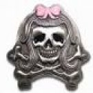 Pirate Girl Belt Buckle