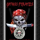 Gothic Pirate Necklace Doubloon