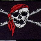 Jolly Roger Flag Patch