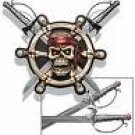 Pirate Wall Plaque w/swords