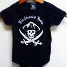 Blackbeards Baby Onesis Size 6months