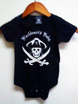 Blackbeards Baby Onesis Size 6months