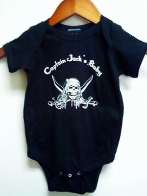 Captain Jacks Baby Onesis Size 6 months