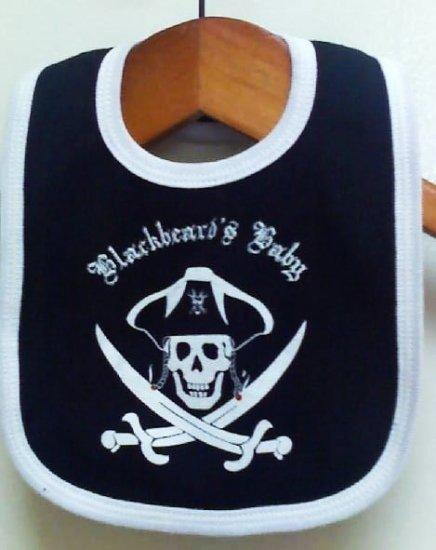 Blackbeards Baby Bib