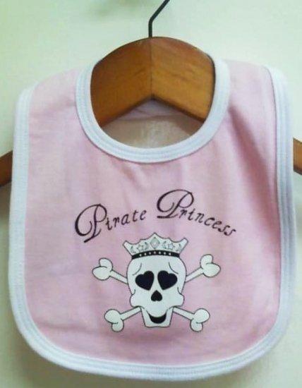 Pirate Princess Baby Bib