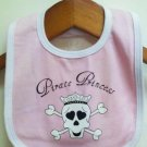 Pirate Princess Baby Bib
