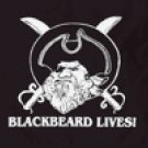 Blackbeard Lives Flag