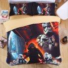 4 pcs 3D Star Wars KING Size #06 Bedding Set Duvet Cover Flat Sheet