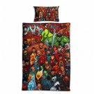 Marvel Avengers #59 Quilt Set Duvet Cover Pillow Case Bedding set Single